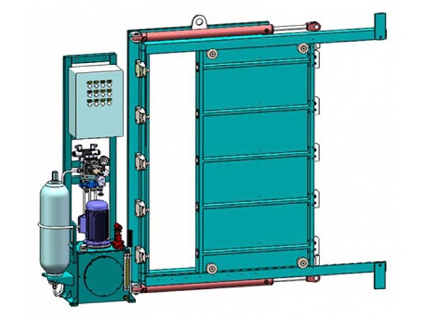 I Type Watertight Sliding Door  sc 1 st  DELIN & Hydraulic Sliding Watertight Door | Marine Door Manufacturer | DELIN